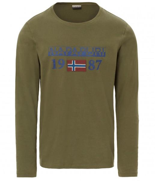 NAPAPIJRI - SOLIN longsleeve T-shirt - groen