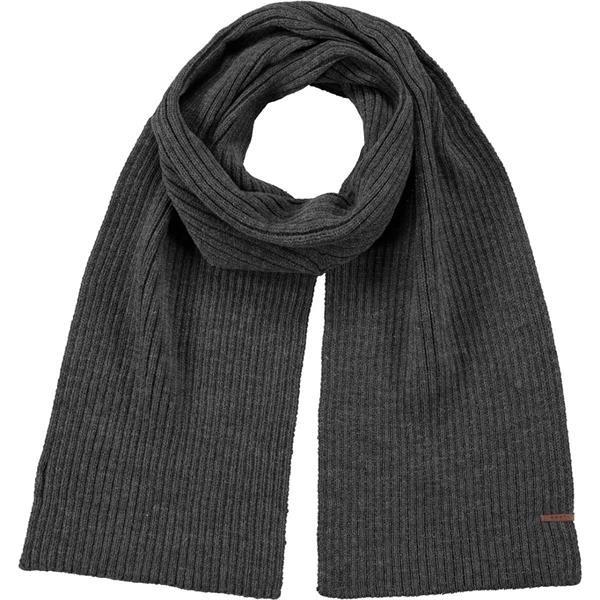 BARTS - WILBERT shawl men - donker grijs