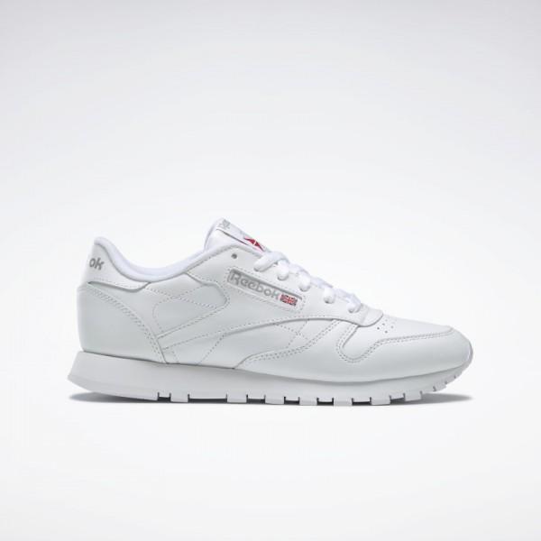 REEBOK - CLASSIC LEATHER schoenen dames - wit