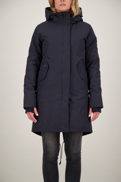 AIRFORCE - FISHTAIL PARKA ICE women - donkerblauw