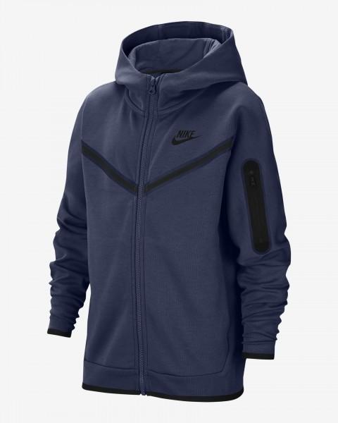 NIKE - TECH FLEECE Vest boys - donkerblauw