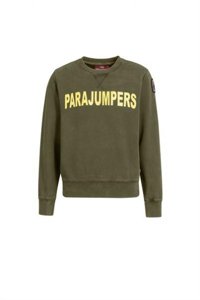 PARAJUMPERS - CALEB BOYS sweater - groen