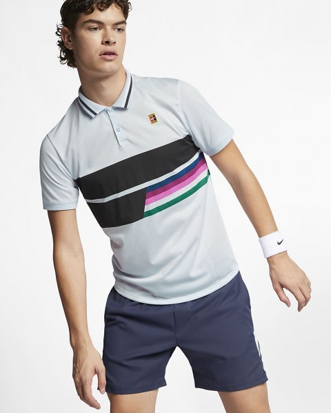 NIKE - RF AdVANTAGE polo - blauw
