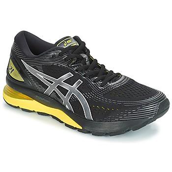 ASICS - GEL-NIMBUS 21 SPARK schoenen - zwart geel