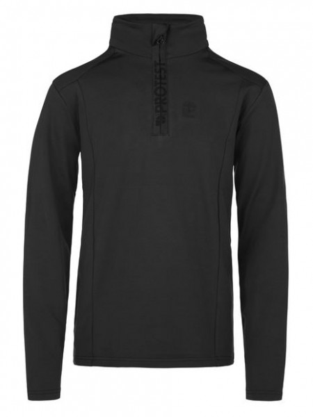 PROTEST- WILLOWY JR ski pulli - true black - zwart - Haarlem - 3810300
