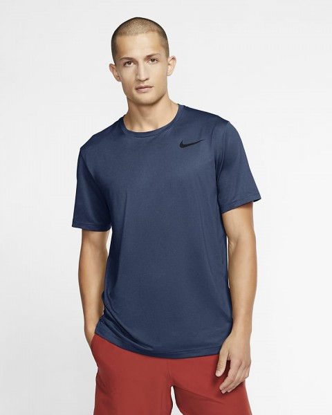 NIKE - PRO top men - donker blauw
