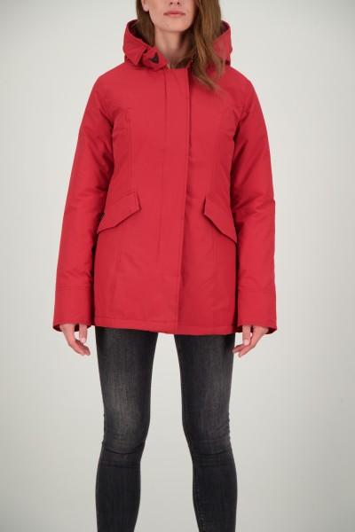 AIRFORCE - 2 POCKET HERRINGBONE jas women - rood