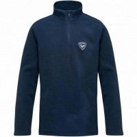 ROSSIGNOL - 1/2 ZIP FLEECE skipully boys - donker blauw