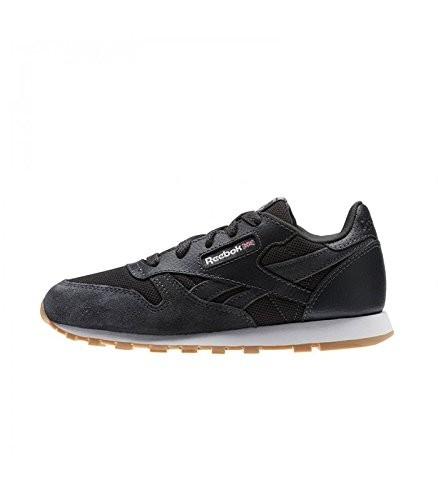 REEBOK - Cl Leather Estl Sneaker kids - zwart