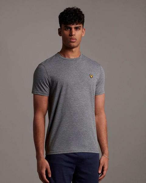 LYLE & SCOTT - MARTIN SLEEVE T-shirt - grijs