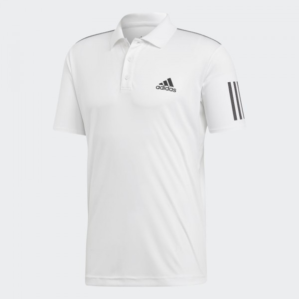 ADIDAS - POLO T-shirt - wit