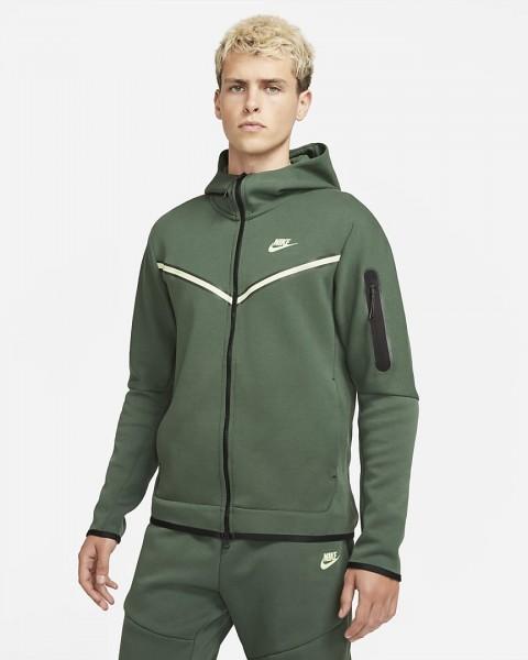 NIKE - TECH FLEECE vest men - groen
