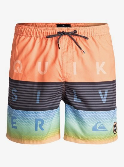 QUIKSILVER - VOLLEYS 17 zwemshort - oranje