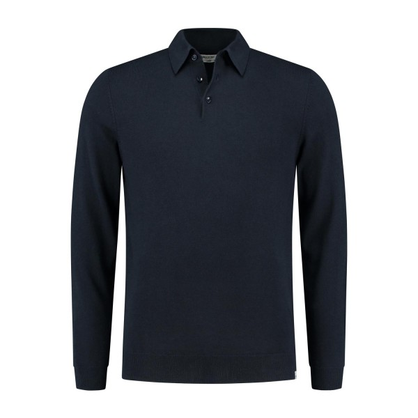 CIRCLE OF TRUST - BRETT POLO men - donkerblauw