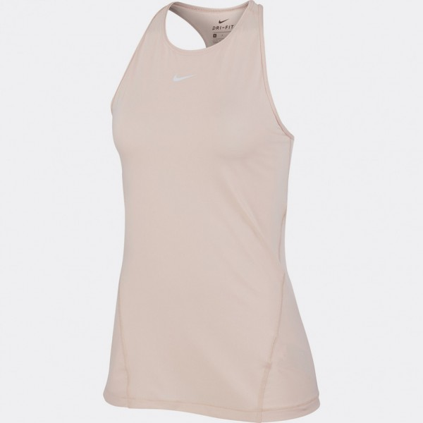 NIKE - ALL OVER MESH top women - lichtroze
