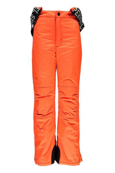 SUPER REBEL - PLAIN ski-broek - neon oranje