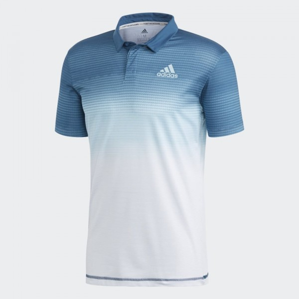 ADIDAS - PARLEY POLO T-shirt - wit