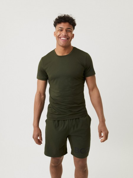 BJORN BORG - BORG trainingsshirt heren - groen