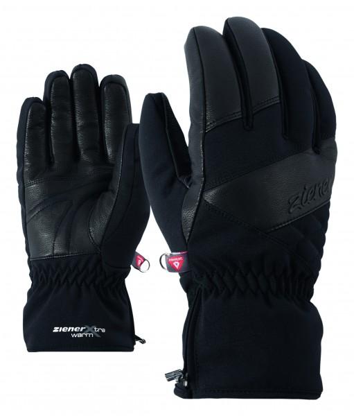 ZIENER - KATE AS handschoen - zwart
