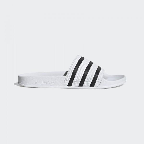 ADIDAS - ADILETTE slippers - wit