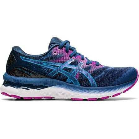 ASICS - GEL-NIMBUS 23 hardloopschoen women - blauw/roze