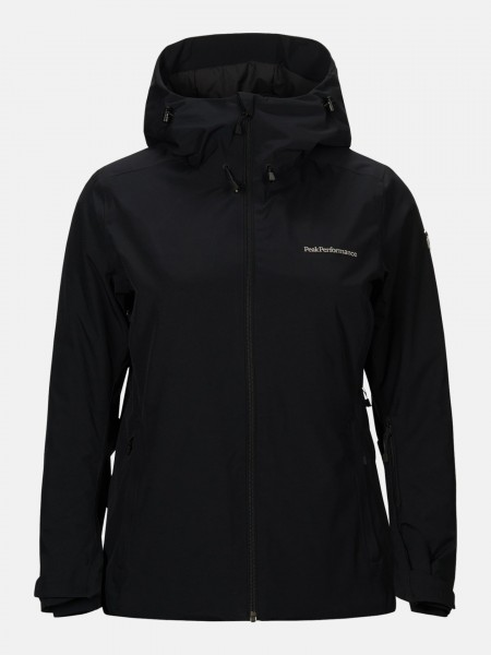PEAK PERFORMANCE - ANIMA ski-jas women - zwart