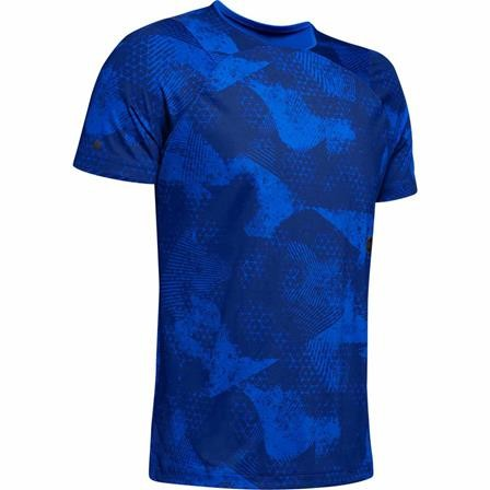 UNDER ARMOUR - RUSH top - blauw
