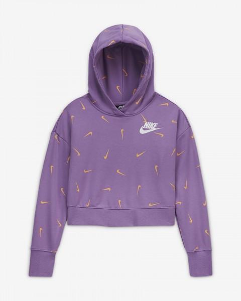NIKE - SPORTSWEAR sweater meisjes - paars