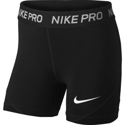 NIKE - Pro short girls - zwart