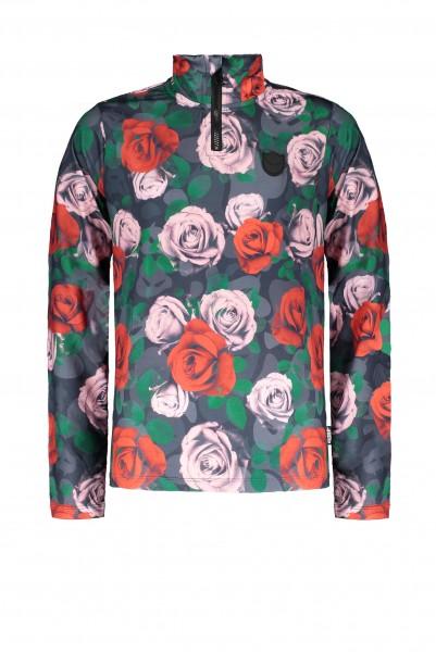 SUPERREBEL - SKIPULLY girls - bloemenprint