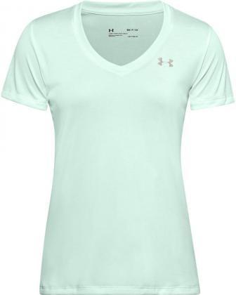 UNDER ARMOUR - TECH TWIST t-shirt women - blauw
