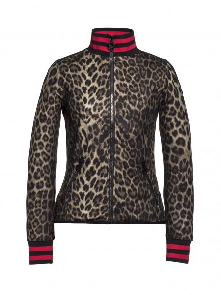 LEONORA vest leopard