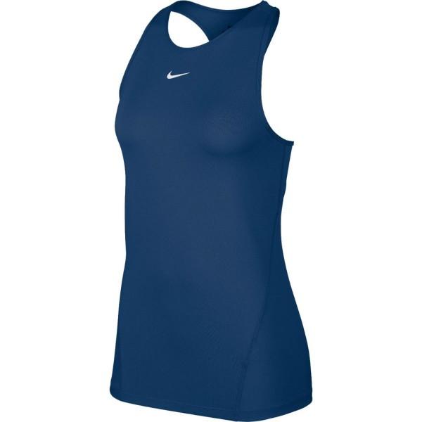 NIKE - Pro Mesh top women - donkerblauw