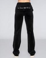 JUICY COUTURE - VELOUR DEL RAY broek - zwart