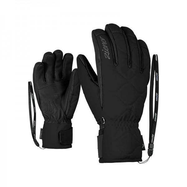 ZIENER - KRISTA AS(R) handschoen - zwart - Haarlem