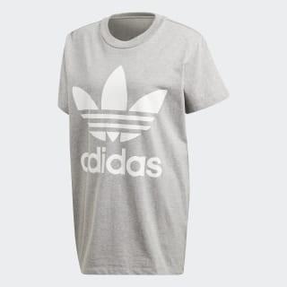 ADIDAS - Big Trefoil t-shirt - grijs