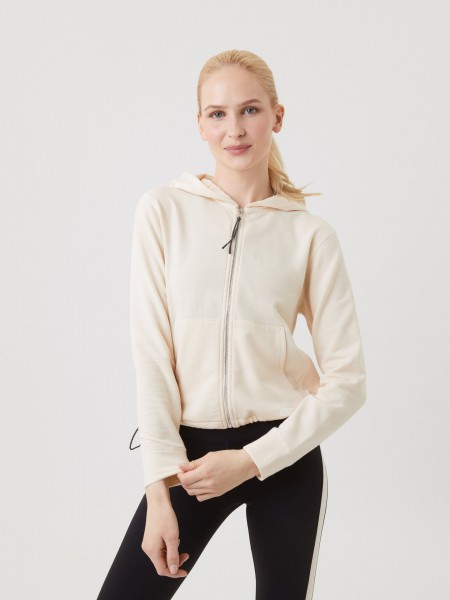 BJORN BORG - STHLM vest dames - beige