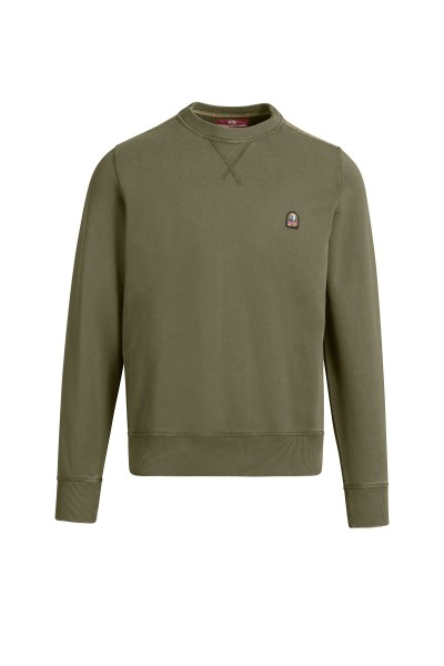 PARAJUMPERS - CALEB BASIC sweater - groen Haarlem