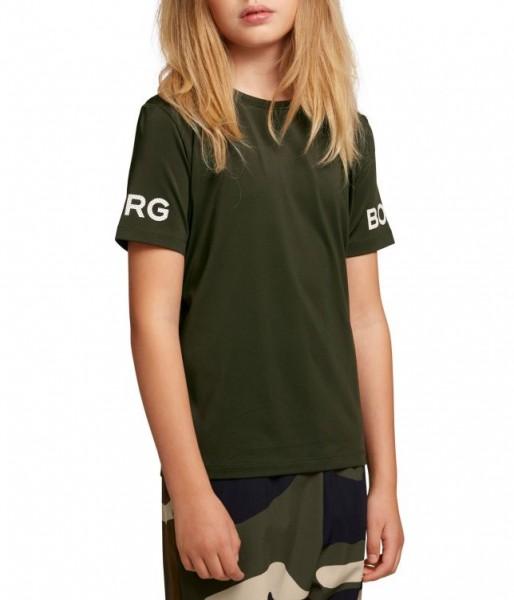 BJORN BORG - BORG T-shirt kids - groen