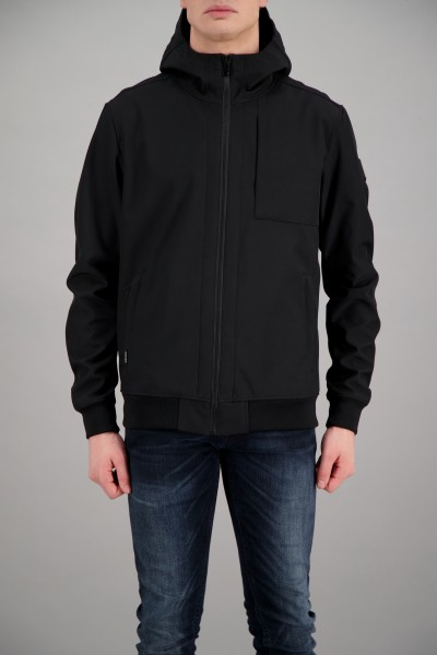 AIRFORCE - SOFTSHELL jas - zwart