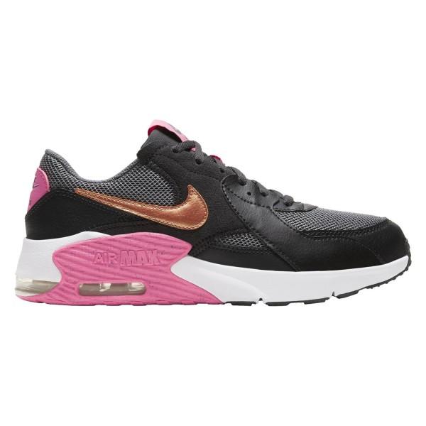 NIKE - AIR MAX EXCEE schoenen kids - zwart/grijs