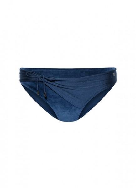 BEACHLIFE - TROPEA VELOUR bikinislip - donkerblauw
