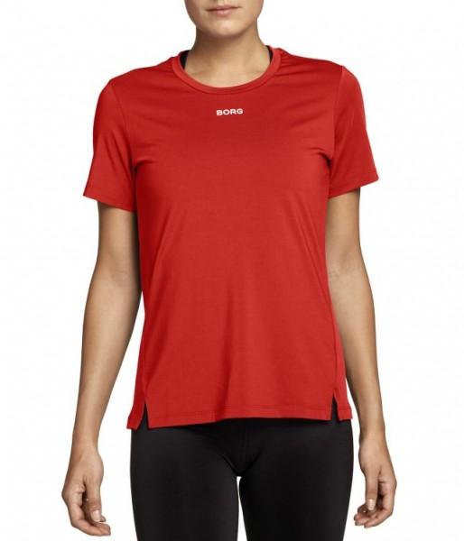 BJORN BORG - CATO T-shirt - rood