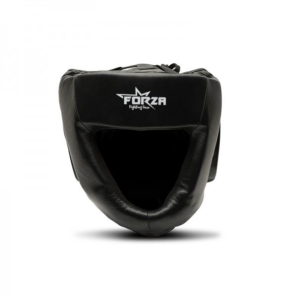 FORZA - LEDEREN hoofdbeschermer - zwart - Haarlem