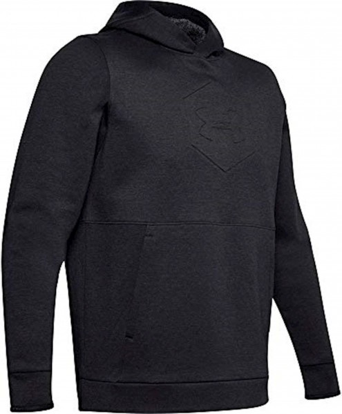 UNDER ARMOUR - RECOVER sweater - zwart