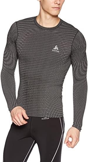 ODLO - FUTURESKIN thermoshirt men - zwart/grijs