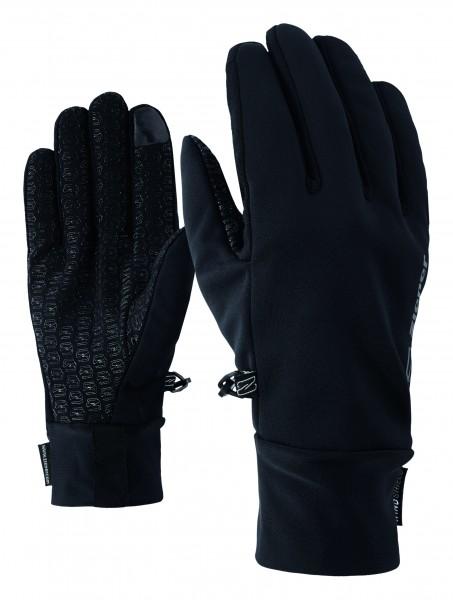 ZIENER - IVIDURO TOUCH handschoen - zwart