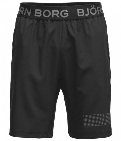 BJORN BORG - MEDAL short - zwart zilver