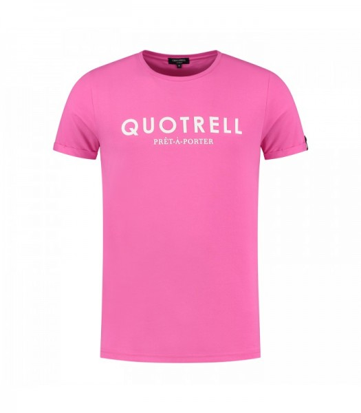 QUOTRELL - BASIC t-shirt - roze
