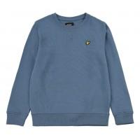 LYLE & SCOTT - CLASSIC sweater boys - blauw